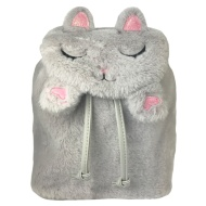 Fun Fluffy Backpack - Cat