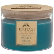 Heritage Wooden Wick Candle - Winter Night