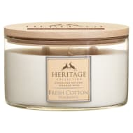 Heritage Collection XL Round Candle - Fresh Cotton