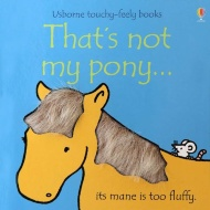 Touchy Feely Book - That's Not My Pony