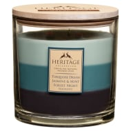 Heritage Mini Layered Candle - Turquoise Dream