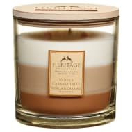 Heritage Mini Layered Candle - Vanilla