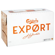Carlsberg Export Lager Bottles 18 x 330ml