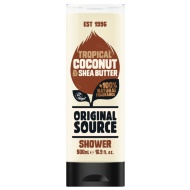 Original Source Shower Gel 500ml - Tropical Coconut & Shea Butter