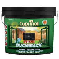 Cuprinol 5 Year Ducksback Black 9L