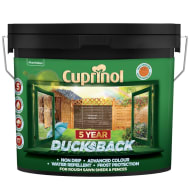 Cuprinol 5 Year Ducksback Harvest Brown 9L