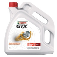Castrol GTX Synthetic Oil 15W-40 A3/B3 4L