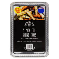 Foil Baking Trays 5pk