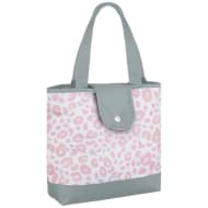 Patterned Insulated Food Bag - Leopard
