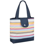 Patterned Insulated Food Bag - Stripes