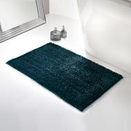 Velvet Touch Bath Mat - Blue