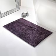 Velvet Touch Bath Mat - Plum