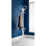 Padstow Metal Coat Stand - White