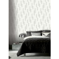 Parallel Wallpaper - Dove Grey
