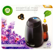 Air Wick Essential Mist Machine - Lavender & Almond Blossom