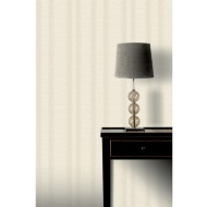 Crushed Stripe Wallpaper - Natural
