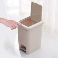 2-in-1 Pedal & Push Button Bin 6.5L