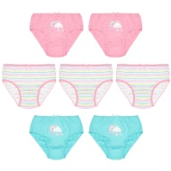 Younger Girls Rainbow Briefs 7pk