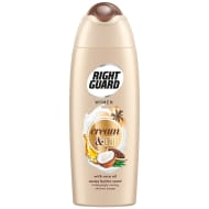 Right Guard Cream Oil Shower Gel 250ml - Cacao Butter