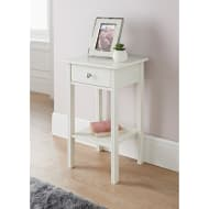 Larson 1 Drawer Side Table