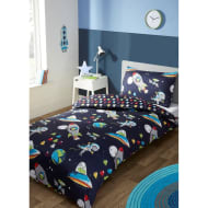 Kids Single Duvet Set - Space