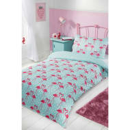 Kids Single Duvet Set - Flamingo