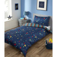 Older Kids Single Duvet Set - Stars