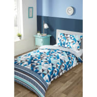 Older Kids Single Duvet Set - Geo