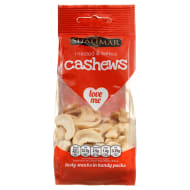 Shalimar Roasted & Salted Cashews 80g