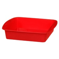 Betty Winters Silicone Square Tray - Red