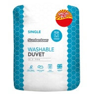 Slumberdown Washable 10.5 Tog Duvet - Single