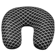 Super Soft Travel Pillow - Black