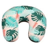 Super Soft Travel Pillow - Palm Leaf