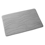 Beldray Wave Bath Mat - Grey