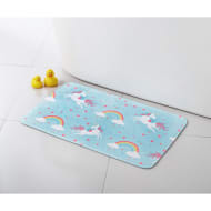 Character Bath Mat - Unicorns
