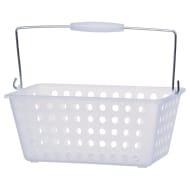 Large Shopping Storage Basket - Clear