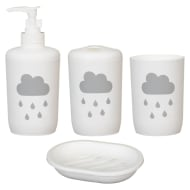 Bathroom Set 4pc - Cloud