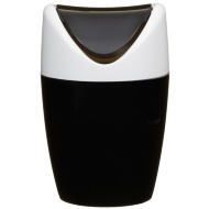 Table Top Mini Swing Bin 1.5L - Black