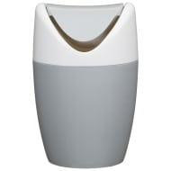 Table Top Mini Swing Bin 1.5L - Grey