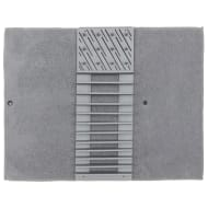 Addis 2-in-1 Dish Drying Mat & Rack - Grey