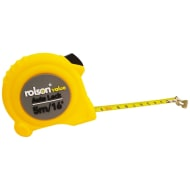 Rolson Auto Lock Tape Measure 5m