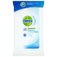 Dettol Cleansing Surface Wipes 84pk