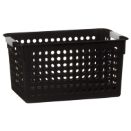 Small Spot Storage Basket - Black