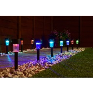 Mini Solar Light Posts 20pk - Colour Changing