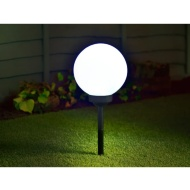 Luna Globe Stake Solar Light