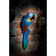 Solar Light Up Parrot - Blue
