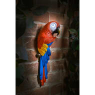 Solar Light Up Parrot - Red