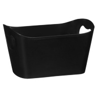 Plastic Storage Tub - Black