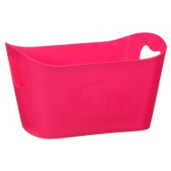 Plastic Storage Tub - Pink
