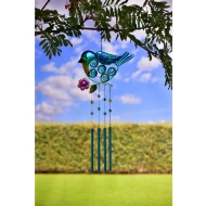 Tubular Wind Chime - Bird